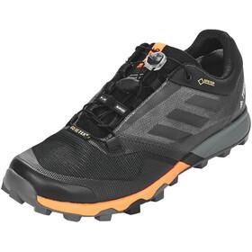 adidas TERREX Trailmaker GTX Trail-Running Shoes Men Core Black/Core Black/Hi-Res Orange